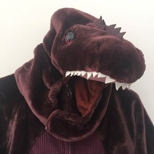 Plush Boy's Dinosaur Costume Size 5/6, 6X